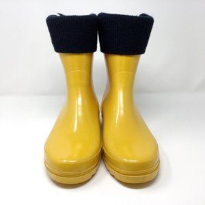 TOMMY HILFIGER Cordell Rain Boots 10 Yellow